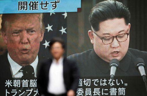 Nordkorea will weiter mit Trump reden