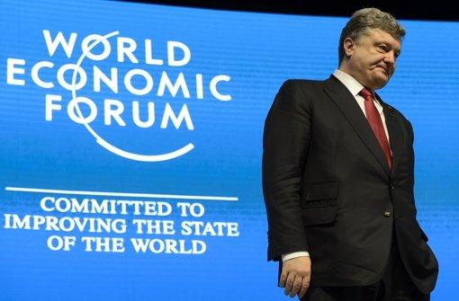 Ukraine-Krise überschattet WEF