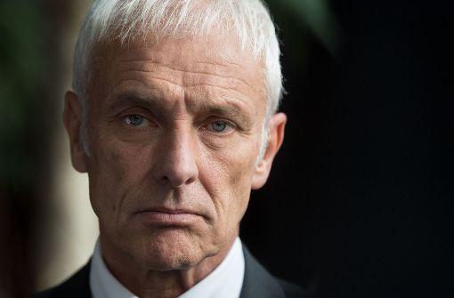 VW-Chef Müller für Abschaffung der Subventionen