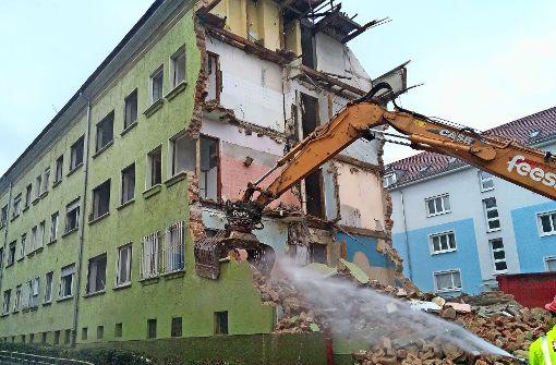 An der Klingenstraße wird weiter gebaut