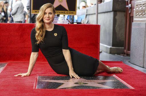 Amy Adams erhält einen Stern