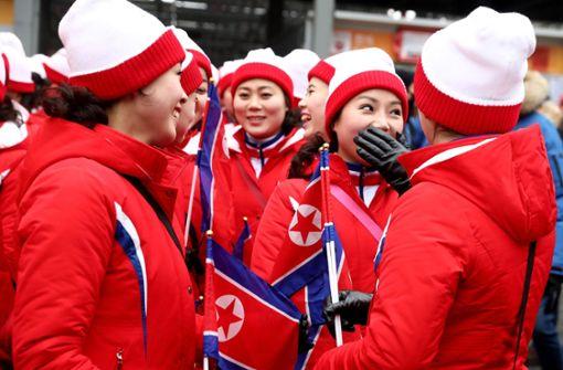 ...sind besonders viele Cheerleaderinnen anwesend. Foto: Getty Images AsiaPac