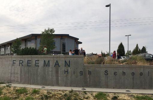 An einer High School im US-Staat Washington sind Schüsse gefallen. Foto: KHQ