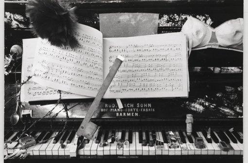 Nam June Paik, Exposition of music, 8 Fotografien der Ausstellung in der Galerie Parnass, Wuppertal, 11.–20. Foto: Staatsgalerie Stuttgart