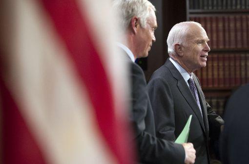Republikaner scheitern mit Entwurf zu Krankenversicherung