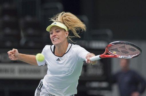 Kein Verschnaufen für die Tennis-Heldin