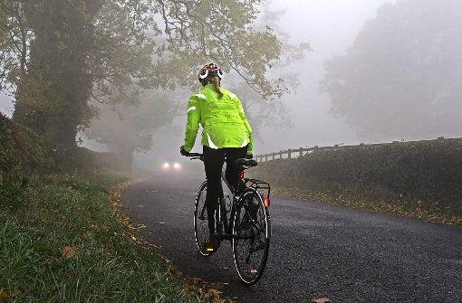 Mit dem Fahrrad durch den Winter
