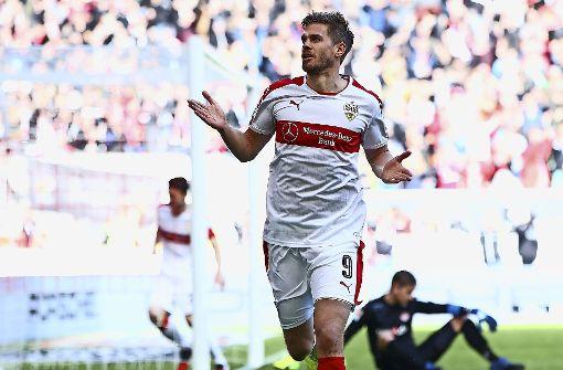 Dank Terodde rollt der VfB-Express weiter