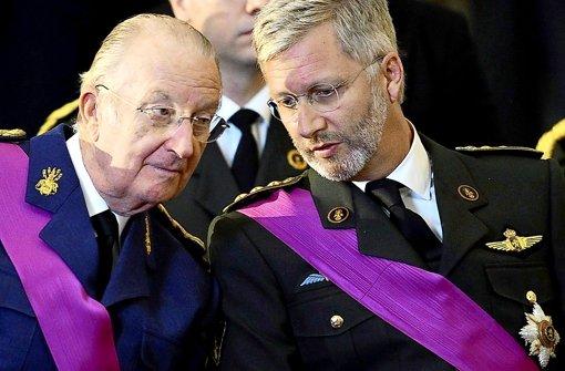 Historischer Thronwechsel in Belgien