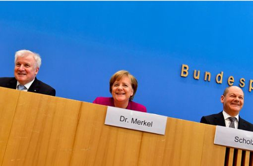 Merkel glaubt an Erfolg