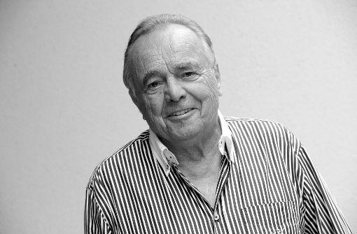 Schauspieler Dieter Bellmann ist tot