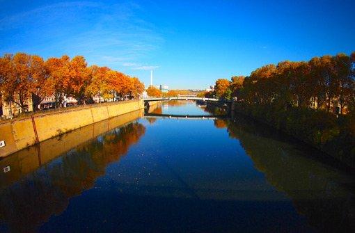Goldener November in Stuttgart