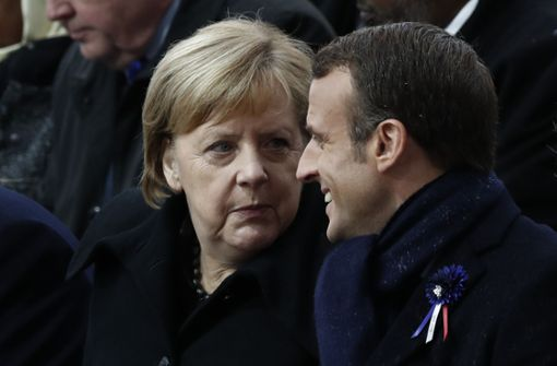 101-Jährige verwechselt Angela Merkel mit Brigitte Macron