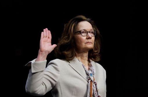 US-Senat bestätigt Gina Haspel