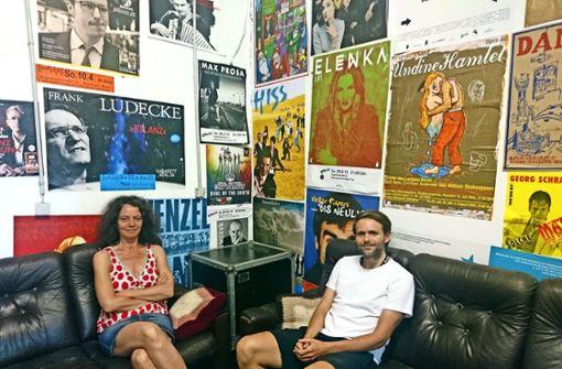Annette Loers und Arne Hübner (oben) haben zusammen das Klinke-Programm erstellt. Foto: Björn Springorum/dpa