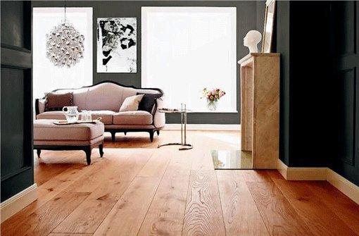 Mit dem richtigen Boden, wirkt die Wohnung gleich viel größer. Foto: dpa