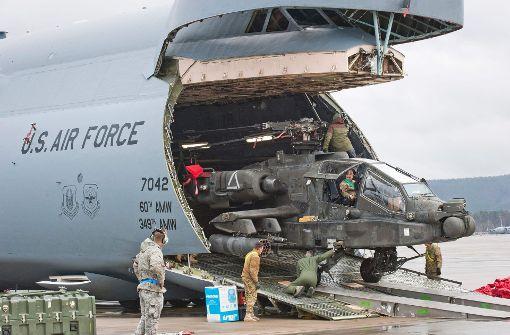 Wieder einmal im Fokus: Der US-Luftwaffenstützpunkt im rheinland-pfälzischen Ramstein. Foto: dpa