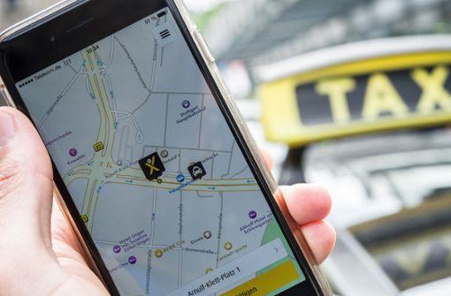 MyTaxi und Taxi Deutschland streiten vor Gericht