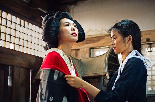 Hideko (Kim Min-hee) und Sookee (Kim Tae-ri) kommen einander nahe. Foto: Verleih