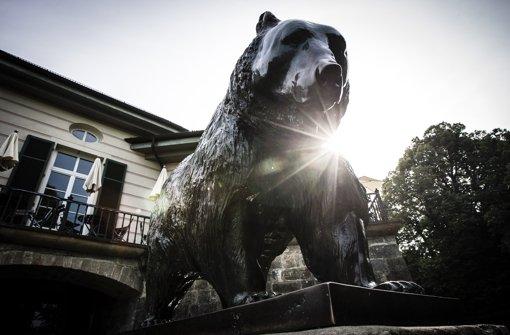 Gab es früher einen echten Bären am Bärenschlössle? Foto: Leif Piechowski