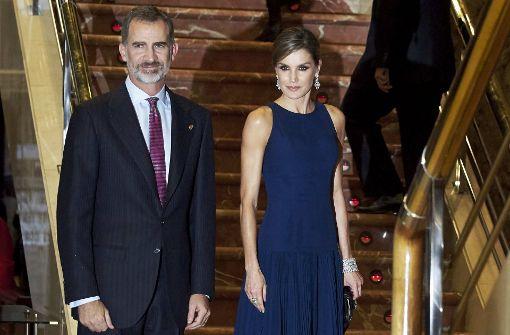 Felipe und Letizia beim Prinzessin-von-Asturien-Preis