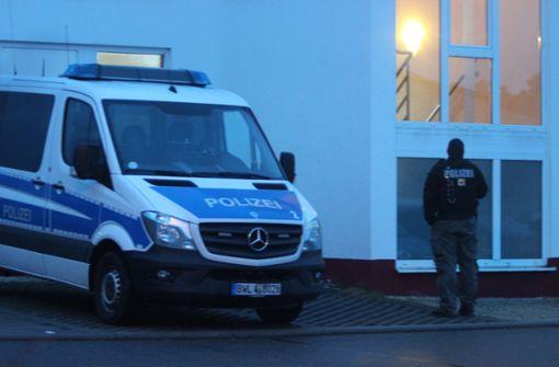 Die Razzia dient nach Angaben eines Polizeisprechers dazu, ... Foto: Franz Feyder