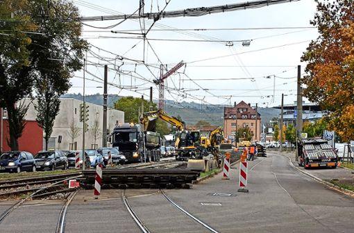 Viele ärgern sich über die Unterbrechung der Stadtbahn
