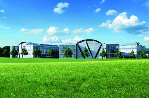 Blick auf die Festo-Zentrale  in Esslingen. Foto: Festo