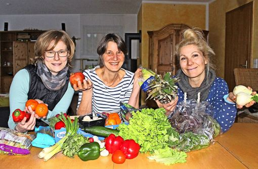 Susanne Malcher, Annette Jickeli und Nancy Marek (v.l.) Foto: Holowiecki