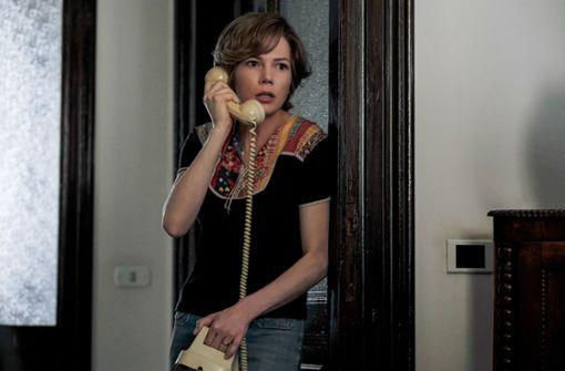 """Michelle Williams spielt in """"Alles Geld der Welt"""" Gail Harris, die von außen in die Welt der Superreichen kam.  Foto: Tobis"""