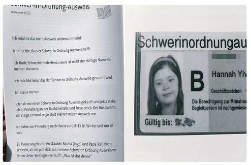 Hannas Schwer-in-Ordnung-Ausweis begeistert Nutzer