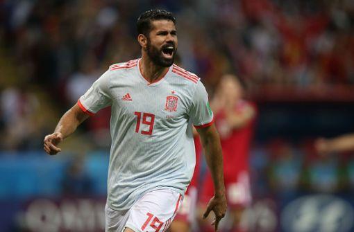 Spanien enttäuscht bei Sieg gegen Iran – Diego Costa trifft