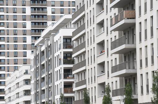 Neubauwohnungen – in Stuttgart und im gesamten Südwesten ein äußerst knappes Gut. Foto: dpa