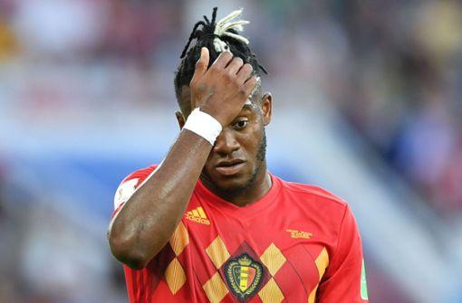Belgien-Stürmer schießt sich selbst ins Gesicht