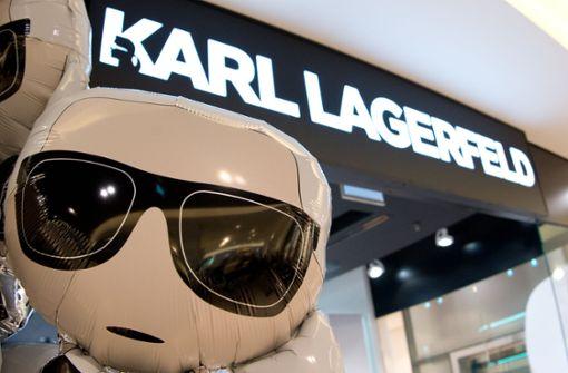 Pompöse Eröffnung des Karl-Lagerfeld-Shops