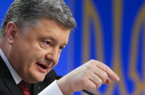 Poroschenko kündigt Gipfeltreffen an