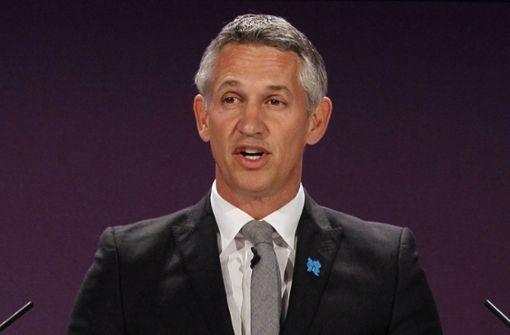 Gary Lineker arbeitet bei der Weltmeisterschaft asls TV-Experte für das britische Fernsehen. Foto: AP