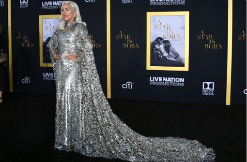 Lady Gaga funkelt bei der Premiere ihres neuen Films