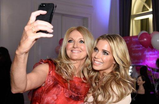 Noch schnell ein Selfie mit Sylvie Meis