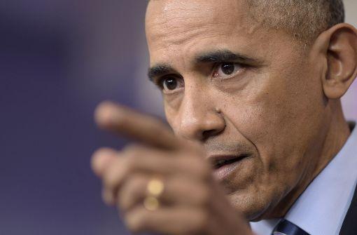 Obama macht Putin für mutmaßliche Hackerangriffe verantwortlich