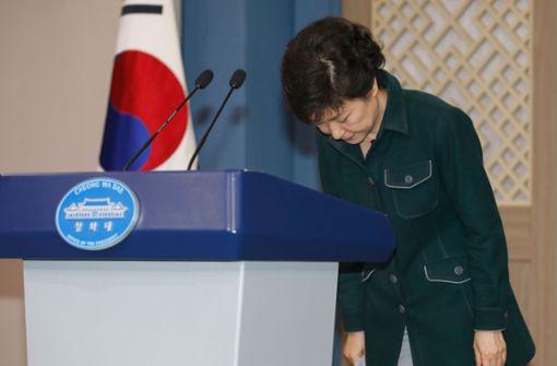 Ex-Präsidentin Park wegen Korruption schuldig befunden