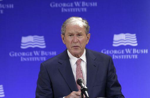 George W. Bush übt scharfe Kritik an Politik Trumps