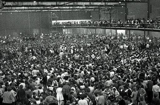 In der Halle 6 des Killesberg im September 1970. Foto: Kraufmann