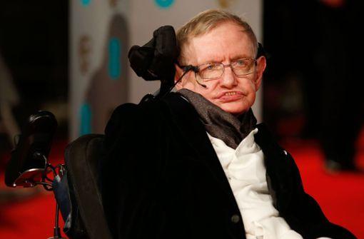 Der Astrophysiker Stephen Hawking ist tot. Foto: AFP