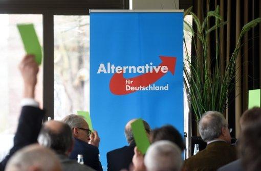 Die AfD erzielt bei der Kommunalwahl in Hessen zweistellige Ergebnisse. Foto: dpa
