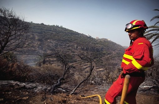 La Gomera:Waldbrand bedroht Ferienort