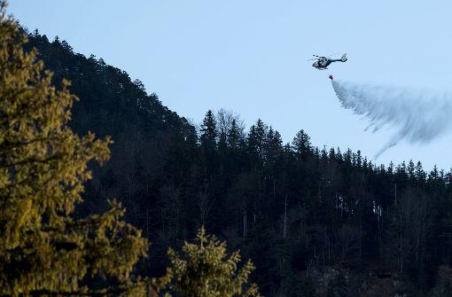 Waldbrand am Jochberg gelöscht