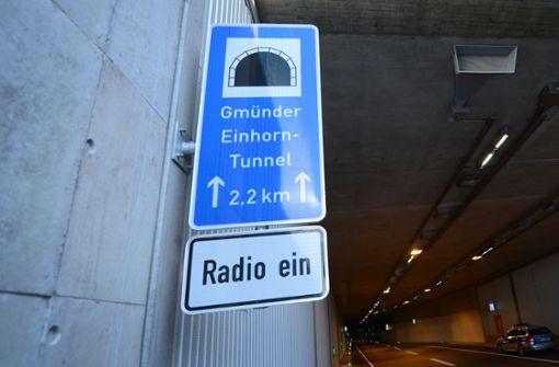 Ein Schwerverletzter bei Unfall in Einhorn-Tunnel