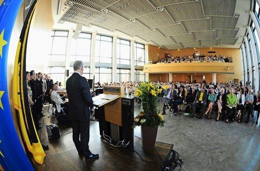 OB empfängt Neubürger im Rathaus