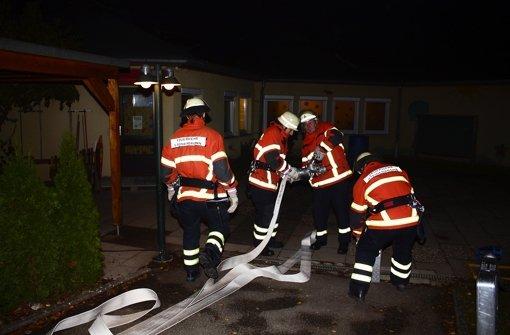 Acht Verletzte gerettet – zur Übung